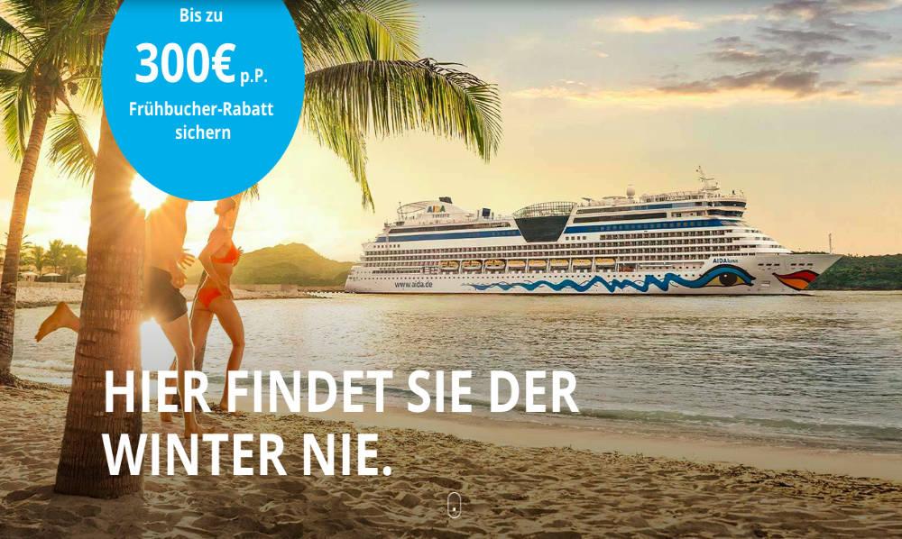 AIDA Frühbucher Aktion 2019