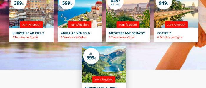 AIDA Pfingst Sale 2019 - Bildquelle: AIDA Cruises