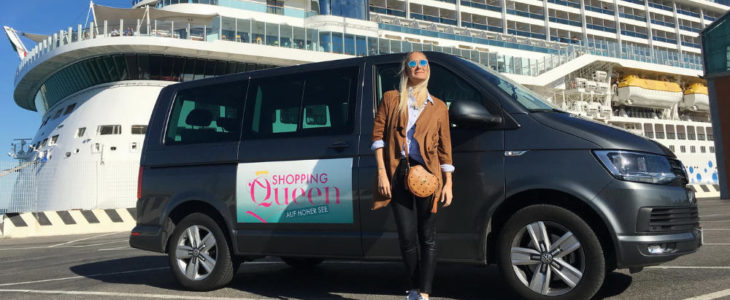 """""""Shopping Queen"""" auf der AIDAnova im Jahr 2018 - Bildquelle: AIDA Cruises"""