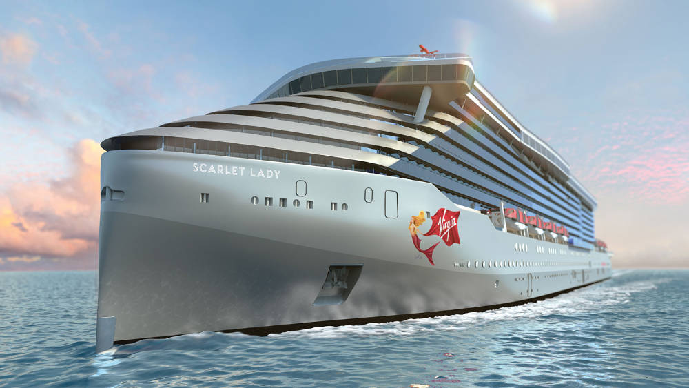 Virgin Scarlet Lady - Bildquelle: Virgin Cruises