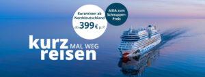 AIDA Kurzreisen Spezial 2019 - Bildquelle: AIDA Cruises