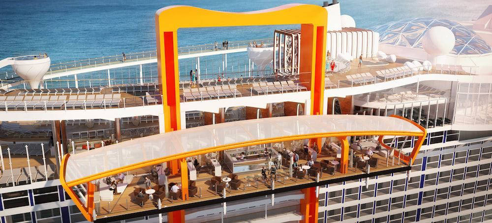 Celebrity Edge - Magic Carpet - Bildquelle: Celebrity Cruises