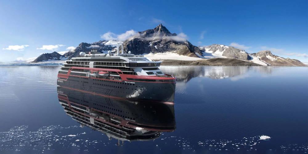 Hurtigruten Fridtjof Nansen Svalbard - Bildquelle: Hurtigruten