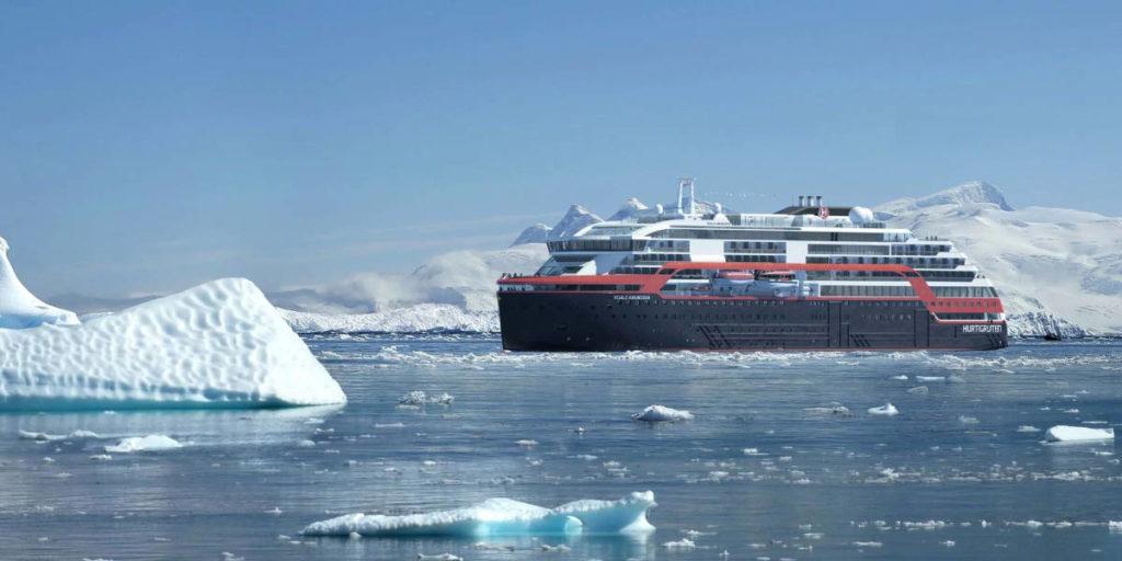 Hurtigruten Roald Amundsen - Bildquelle: Hurtigruten