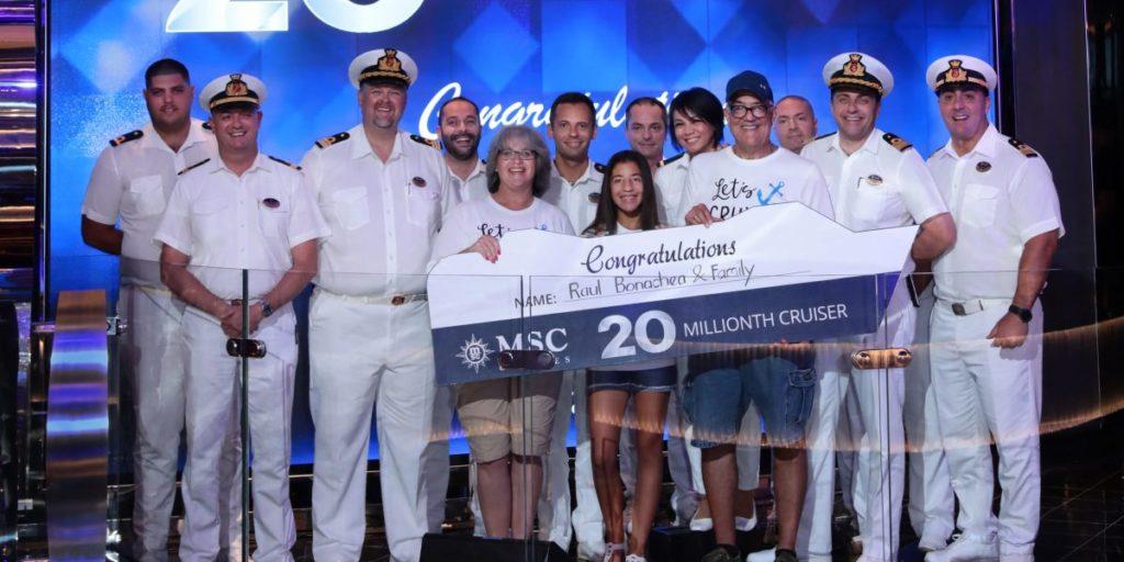 20 Millionen Kreuzfahrt-Gäste - Bildquelle: MSC Cruises