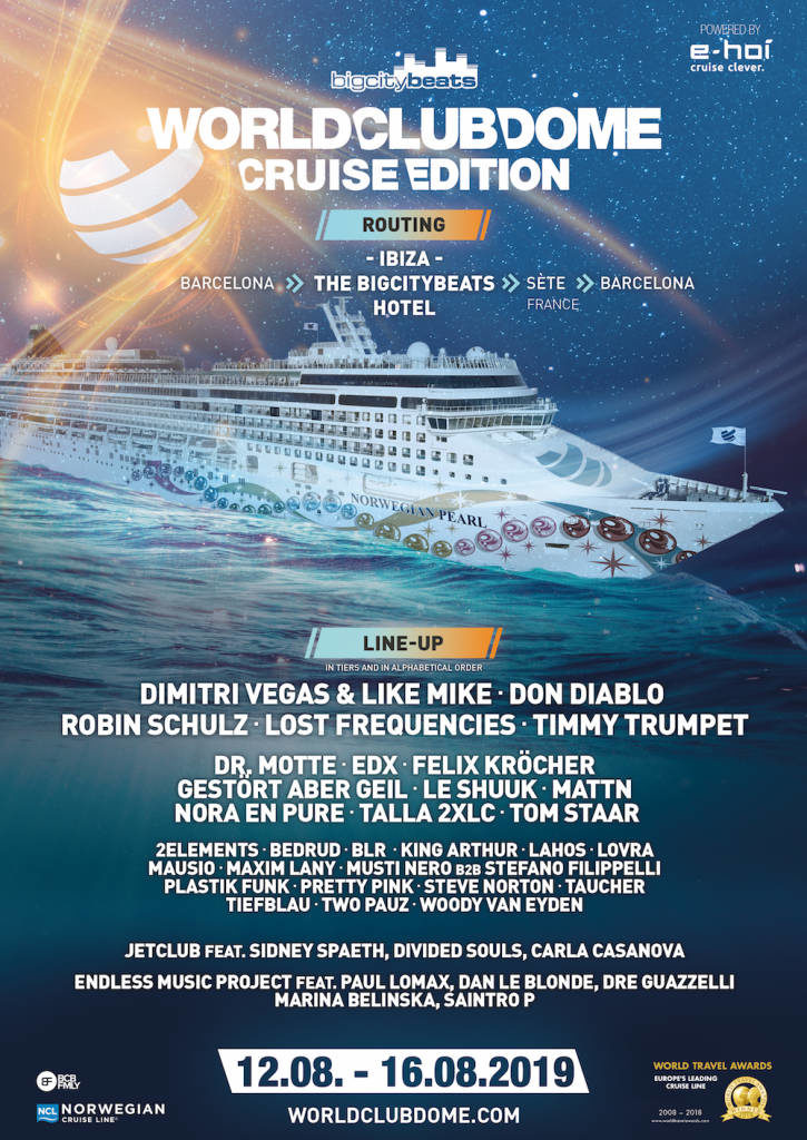 World Club Dome 2019 Cruise Edition - Bildquelle: World Club Dome
