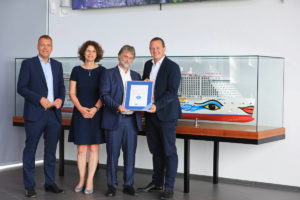 AIDAnova Blauer Engel - Bildquelle. obs/AIDA Cruises/Ove Arscholl