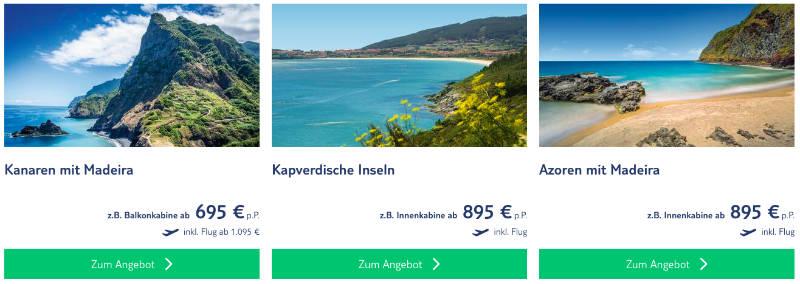 TUI Cruises Wochend Kanaren Spezial 1