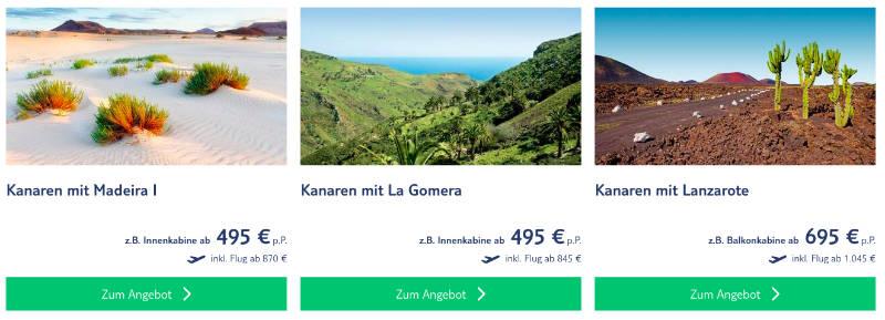 TUI Cruises Wochend Kanaren Spezial 2