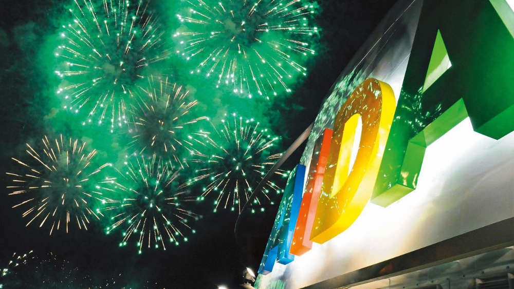 AIDA Feuerwerk an Bord - Bildquelle: AIDA Cruises