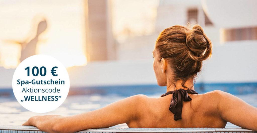 AIDA Wellness Aktionscode 100 Euro - Bildquelle: AIDA Cruises