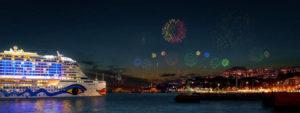 AIDAprima Silvester 2017 - Bildquelle: AIDA Cruises