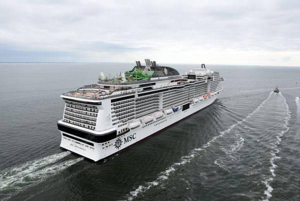 MSC Grandiosa - Bildquelle: Bernard Biger / MSC Cruises
