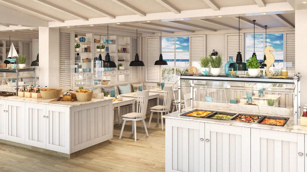 AIDAcosma - Beach Restaurant - Bildquelle: AIDA Cruises