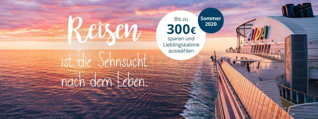 AIDA Frühbucher Sommer 2020