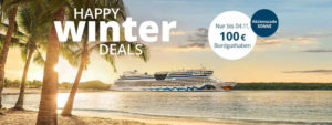 AIDA Happy Winter Deals 2019 - Bildquelle: AIDA Cruises