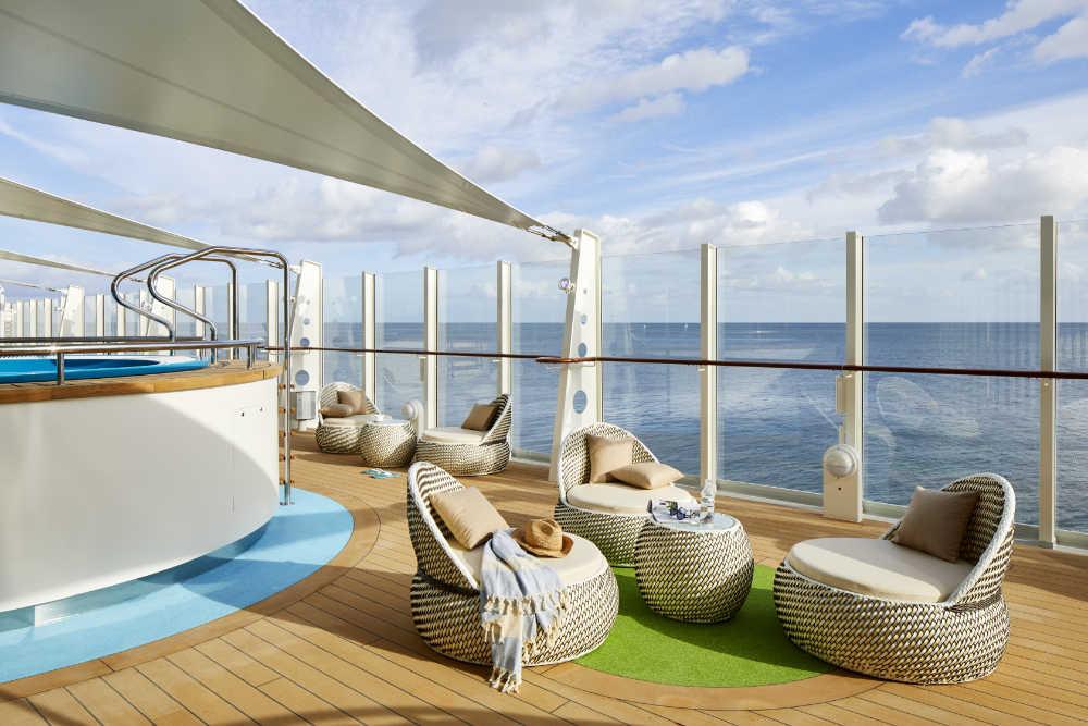 AIDAnova Spa Bereich - Bildquelle: AIDA Cruises