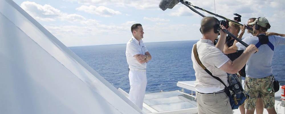 ServusTV-Doku auf der Mein Schiff 1 - Bildquelle. TUI Cruises