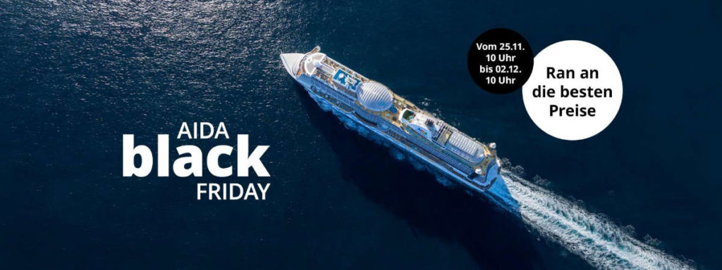AIDA Black Friday Angebote 2019 - Bildquelle: AIDA Cruises