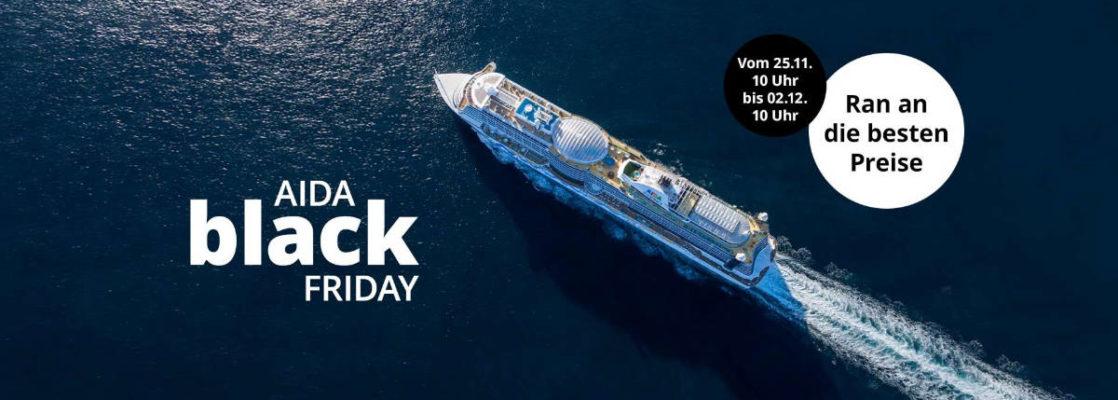 AIDA Black Friday Angebote 2019 - Bildquelle: AIDA Cruises