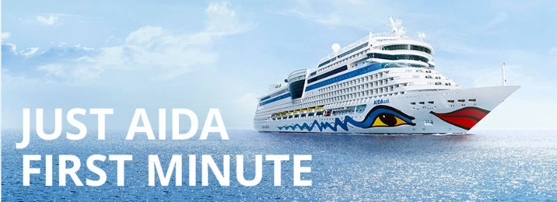 Just AIDA First Minute - Bildquelle: AIDA Cruises