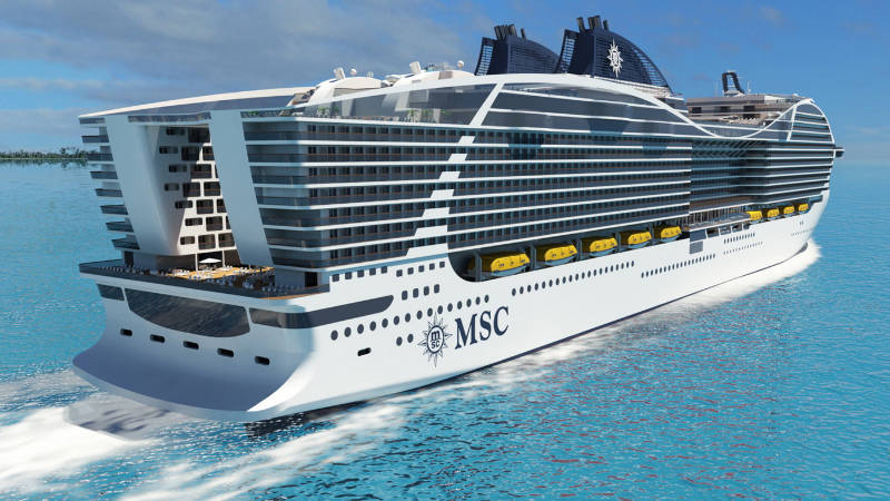 MSC World Class - MSC Europa - Bildquelle: MSC Cruises & Chantiers de l'Atlantique