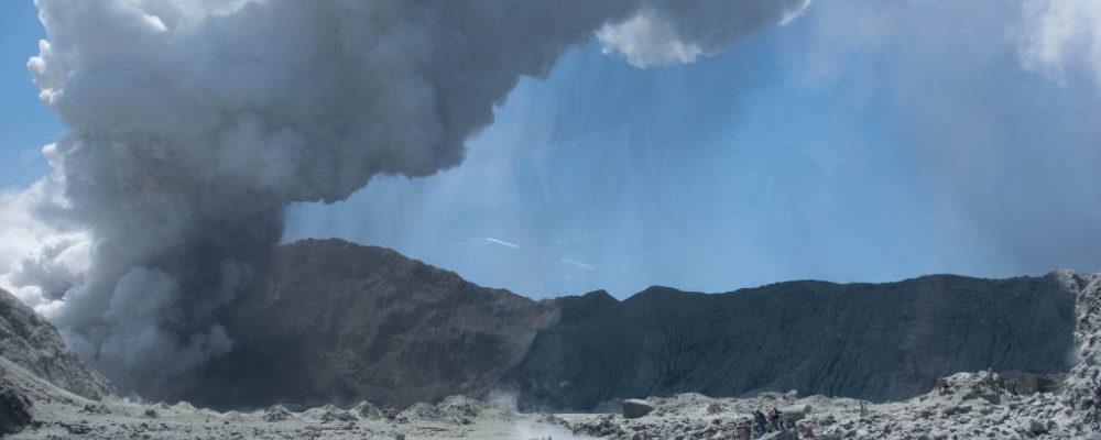 Vulkanausbruck auf White Island - Bildquelle: Michael Schade