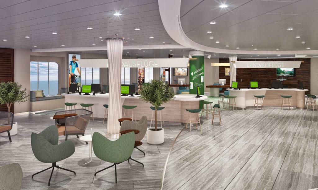 Mein Schiff 4 - Umbau 2020 Shore - Bildquelle: TUI Cruises