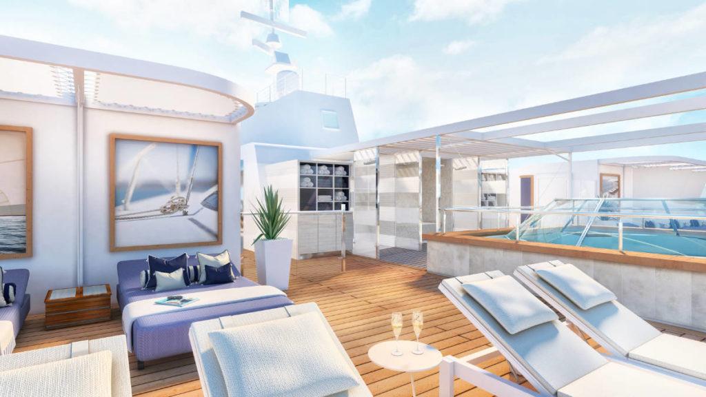 Mein Schiff 4 - Umbau 2020 Suite Sundeck - Bildquelle: TUI Cruises