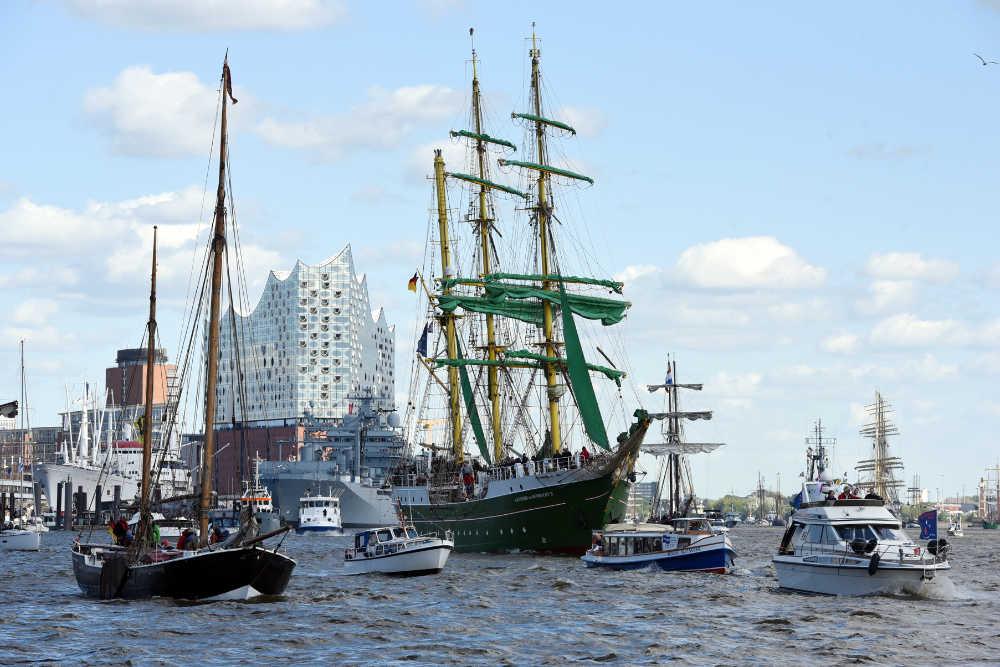 Hafengeburstag Hamburg  Bildquelle:  © Hamburg Messe und Congress/Nicolas Maack