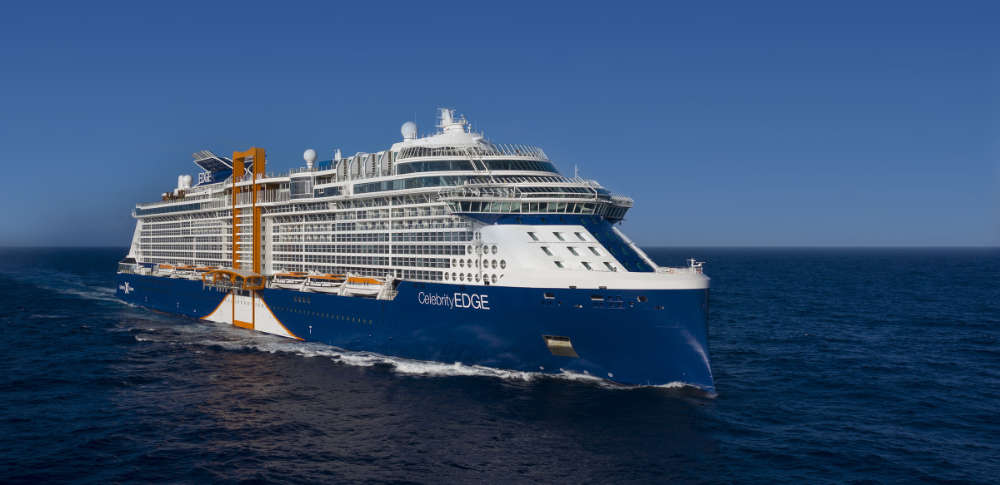 Celebrity Edge - Bildquelle. Celebrity Cruises