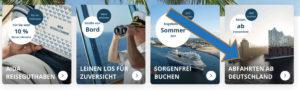 AIDA Screenshot - Bildquelle. AIDA Cruises