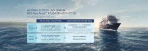 Mein Schiff Reiseguthaben - Bildquelle. TUI Cruises