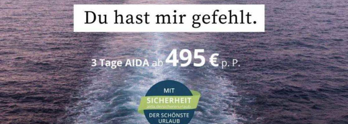 Leinen los für AIDA Cruises, Bildquelle: AIDA Cruises