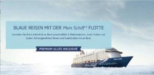 Mein Schiff Blaue Reisen - Screenshot: TUI Cruises