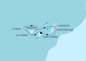 Blaue Reisen auf den Kanaren - Bildquelle: TUI Cruises