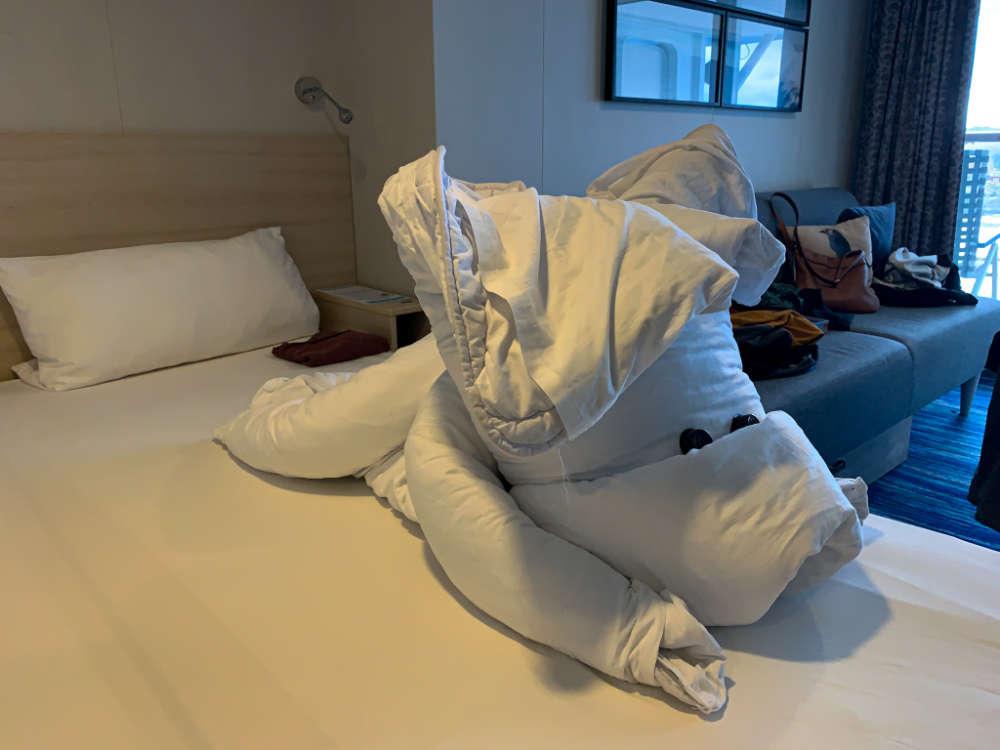Das Housekeeping zaubert tolle Tierchen aus den Decken