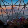 Blick aus dem Diamanten auf hoher See - Bildquelle: Cruisify.de