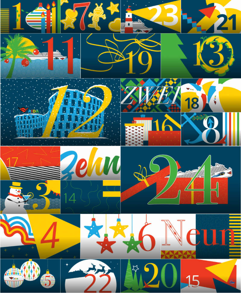 AIDA Adventskalender - Bildquelle: AIDA Cruises
