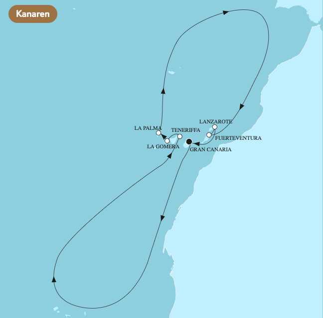TUI Cruises Auktion 2021 Kanaren - Bildquelle: TUI Cruises