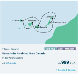 AIDA Oster Sale 2021 - Bildquelle: AIDA Cruises