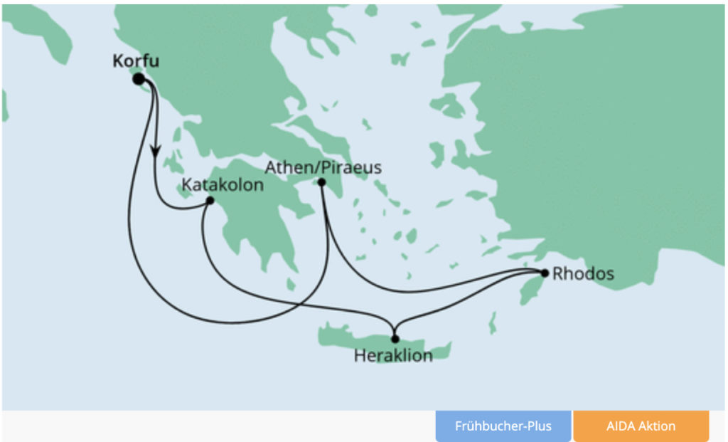 AIDA Cruises: Die neuen Griechenland-Kreuzfahrten mit AIDAblu - Bildquelle: AIDA Cruises