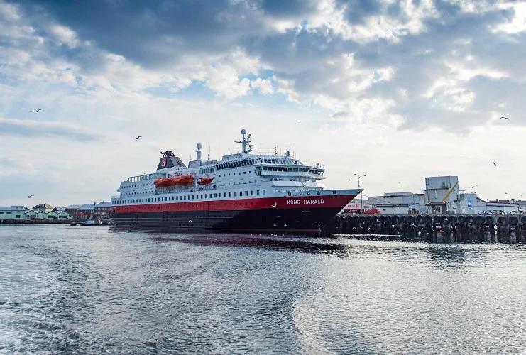 Hurtigruten - MS Kong Harald - Bildquelle: Hurtigruten