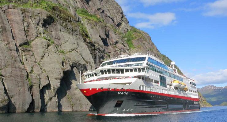Hurtigruten - MS Maud - Bildquelle: Hurtigruten