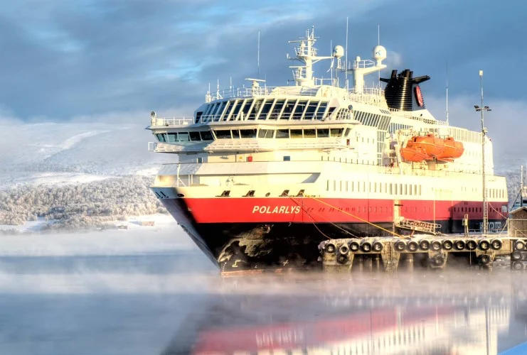 Hurtigruten - MS Polarlys - Bildquelle: Hurtigruten