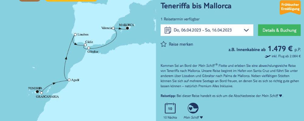 Abschiedsreise der Mein Schiff Herz - Bildquelle: TUI Cruises