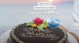 AIDA Cruises wird 25 - Bildquelle: AIDA Cruises