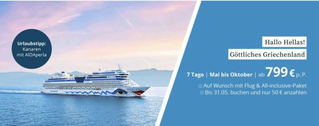 aida cruises banner giechenland mai okt 2021