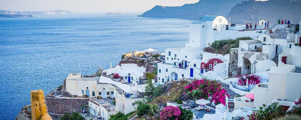Santorini Griechenland - Bildquelle: Michelle Raponi Pixabay