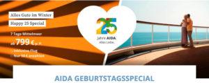 AIDA 25 Jahre Geburtstagsspecial